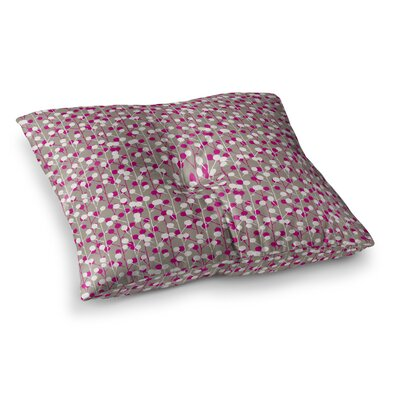 Wineberry by Julie Hamilton Floor Pillow Size: 23 x 23