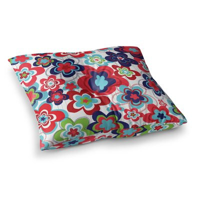 A Cheerful Morning by Jolene Heckman Floor Pillow Size: 23 x 23
