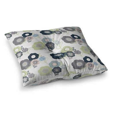 Floral Bunches by Jolene Heckman Floor Pillow Size: 26 x 26