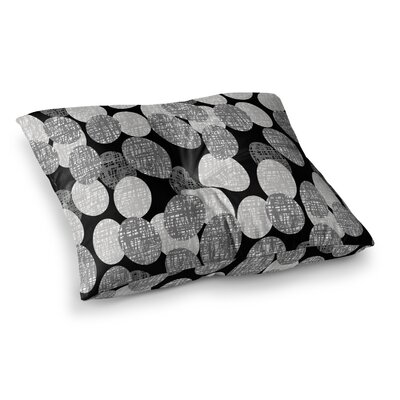 Seeds - Monochrome by Jacqueline Milton Floor Pillow Size: 23 x 23