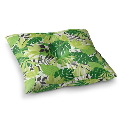 Tropicana by Jacqueline Milton Floor Pillow Size: 23 x 23