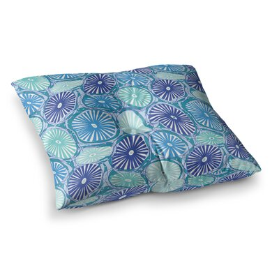 Sea by Jacqueline Milton Floor Pillow Size: 26 x 26