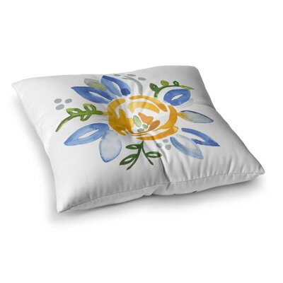 Buttercup by Jennifer Rizzo Floor Pillow Size: 23 x 23