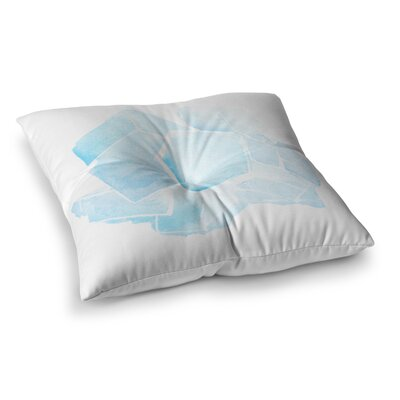 Quartz by Jennifer Rizzo Floor Pillow Size: 23 x 23