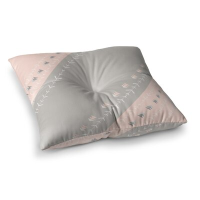 Arrows by Jennifer Rizzo Floor Pillow Size: 26 x 26