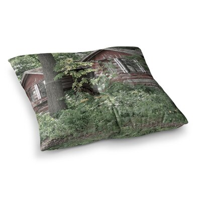 Rustic Cabins Photography by Jennifer Rizzo Floor Pillow Size: 26 x 26