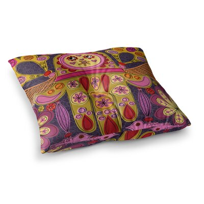 Indian Jewelry by Jane Smith Floor Pillow Size: 26 x 26