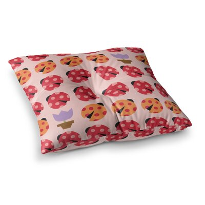 Seasons Spring by Jane Smith Floor Pillow Size: 23 x 23