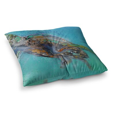 Daddy by Josh Serafin Floor Pillow Size: 26 x 26
