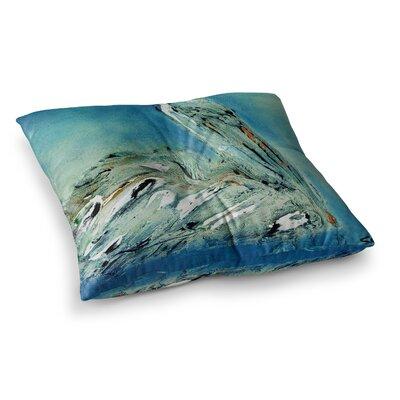 Drifter by Josh Serafin Floor Pillow Size: 23 x 23