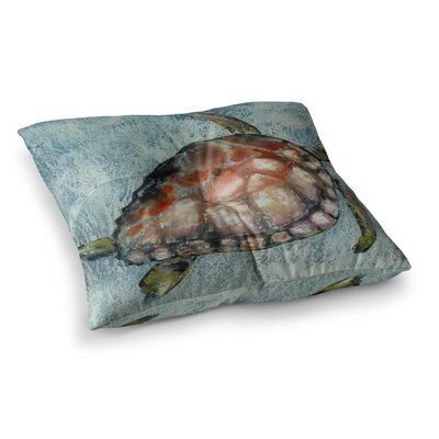 Home Bound by Josh Serafin Floor Pillow Size: 23 x 23