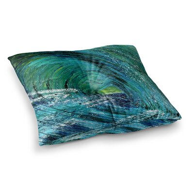 Natural High by Josh Serafin Floor Pillow Size: 26 x 26