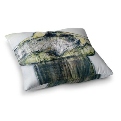 Oldtimer Bird by Josh Serafin Floor Pillow Size: 26 x 26
