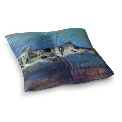 Sea Leopard Shark by Josh Serafin Floor Pillow Size: 26 x 26