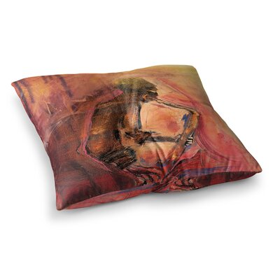 Catch the Wind by Josh Serafin Floor Pillow Size: 26 x 26