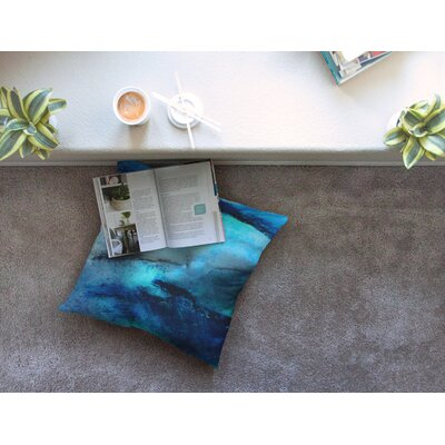 Dolphin by Josh Serafin Floor Pillow Size: 23 x 23