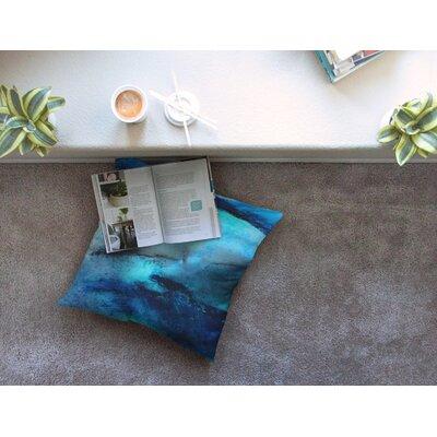 Dolphin by Josh Serafin Floor Pillow Size: 26 x 26