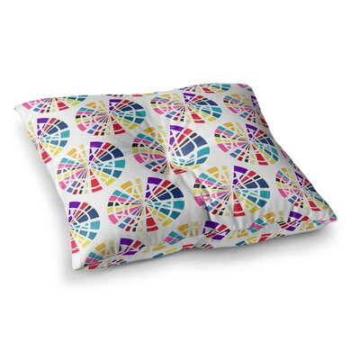 Precious Illustration by Patternmuse Floor Pillow Size: 23 x 23, Color: Multi