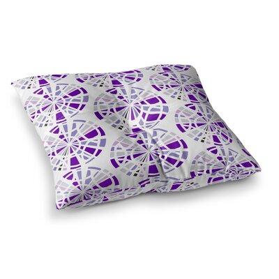 Precious Illustration by Patternmuse Floor Pillow Size: 23 x 23, Color: Purple/Lavender