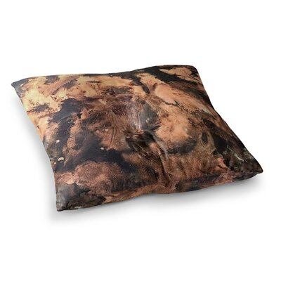 King Midas Abstract by Abstract Anarchy Design Floor Pillow Size: 23 x 23