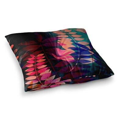 Dark Jungle by Jessica Wilde Floor Pillow Size: 23 x 23