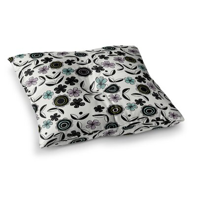 Artisan Floral by Jessica Wilde Floor Pillow Size: 23 x 23
