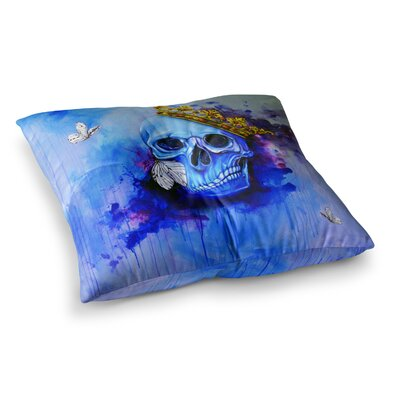 Spiriti Darchivio Fantasy Painting by Kira Crees Floor Pillow Size: 23 x 23