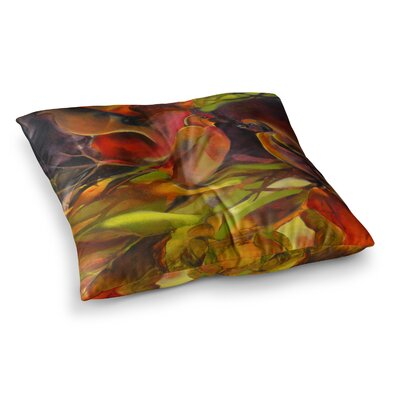 Mirrored in Nature by Kristin Humphrey Floor Pillow Size: 23 x 23