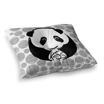 Panda Floor Pillow Size: 26 x 26