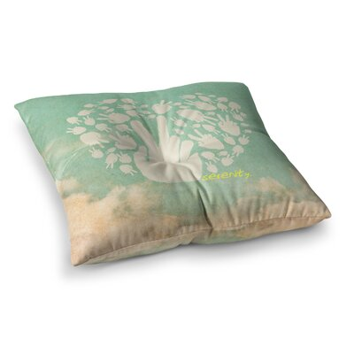 Serenity Floor Pillow Size: 26 x 26