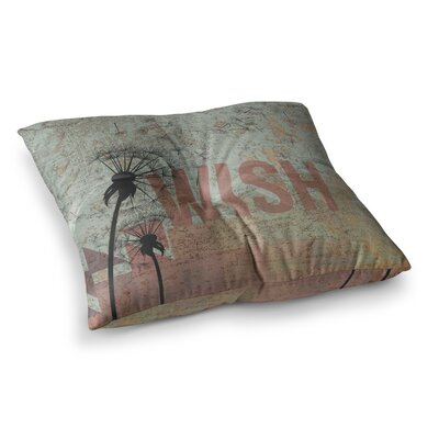 Wish Floor Pillow Size: 23 x 23
