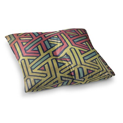 Deco Floor Pillow Size: 26 x 26
