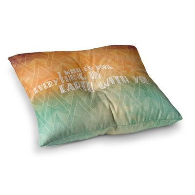 Deco II Floor Pillow Size: 23 x 23