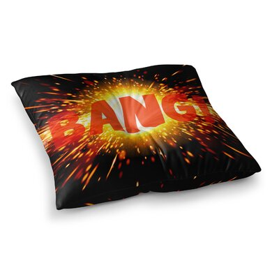 Bang Floor Pillow Size: 26 x 26