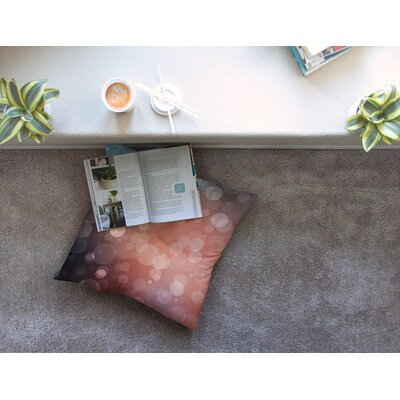 Sunset Bokeh Floor Pillow Size: 23 x 23