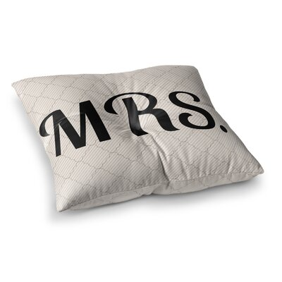 MRS Floor Pillow Size: 26 x 26