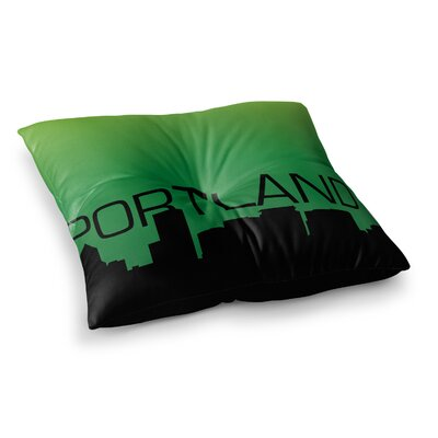 Portland Floor Pillow Size: 26 x 26