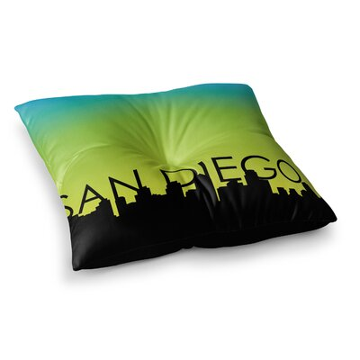 San Diego Floor Pillow Size: 26 x 26