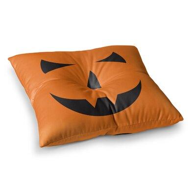 Pumpkin Trick Floor Pillow Size: 26 x 26
