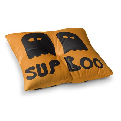 Sup Boo Floor Pillow Size: 26 x 26