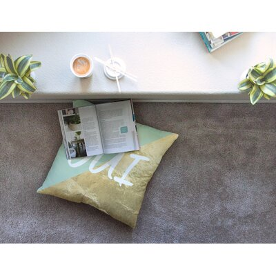 Oui Floor Pillow Size: 26 x 26
