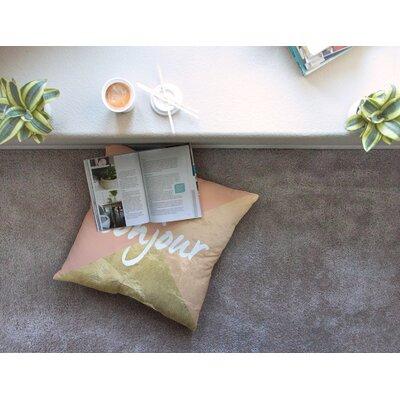Bonjour Floor Pillow Size: 23 x 23