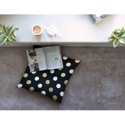 Dots Floor Pillow Size: 23 x 23