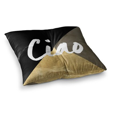 Ciao Floor Pillow Size: 23 x 23