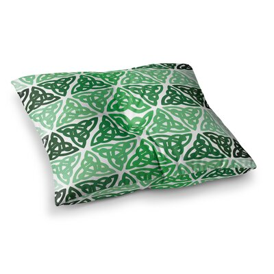 Celtic Knot Forest Floor Pillow Size: 26 x 26