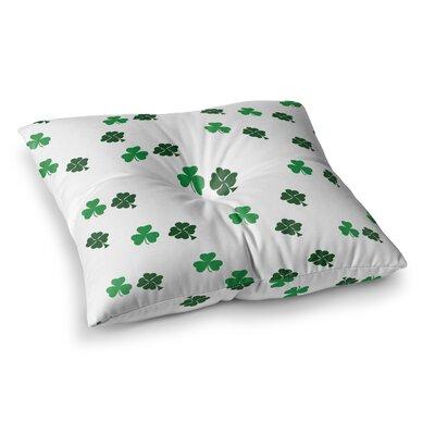 Shamrockin St. Patrick Floor Pillow Size: 26 x 26