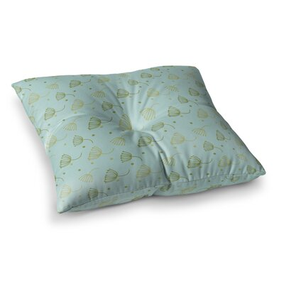 Floating Dandelion Floor Pillow Size: 26 x 26