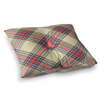 Sunday Brunch Plaid Tartan Floor Pillow Size: 26 x 26