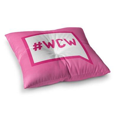 Women Crush Wednesday Floor Pillow Size: 26 x 26