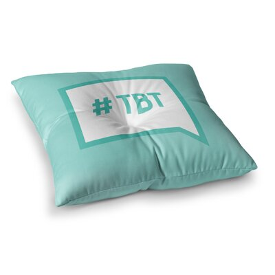 Throw Back Thursday Floor Pillow Size: 23 x 23